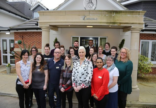 Feature on Regency Manor Care Home in Parkstone which has been rated as one of the country's top one per cent of care homes.