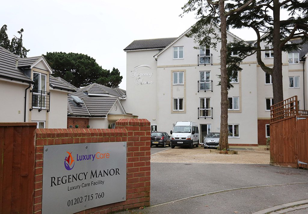 Our care home in Poole.